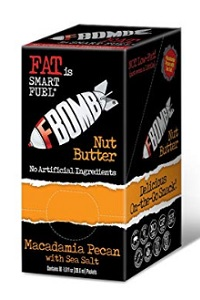 FBOMB Fat Bomb – Macadamia with Pecan Nut Butter