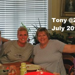 July 2018 Anthony R Locke Jenn Locke Debbie Means Linda Vick