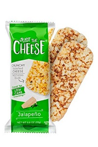 Just the Cheese Bars, Crunchy Baked Low Carb Snack Bars
